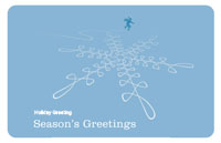 Seasonsgreetings23 Greeting Card (55x85)